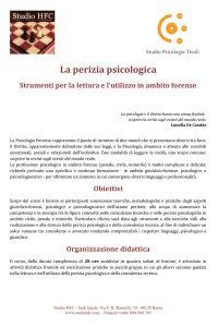 2012-LaPeriziaPsicologica