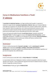 2014-CorsoMediazioneFamiliareTivoli-3edizione
