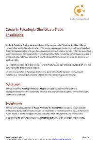 2014-CorsoPsicologiaGiuridicaTivoli-1edizione